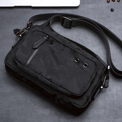 Hand bag man bag 2018 new fashion waterproof Oxford cloth canvas men's bag Korean version of the shoulder Messenger bag men