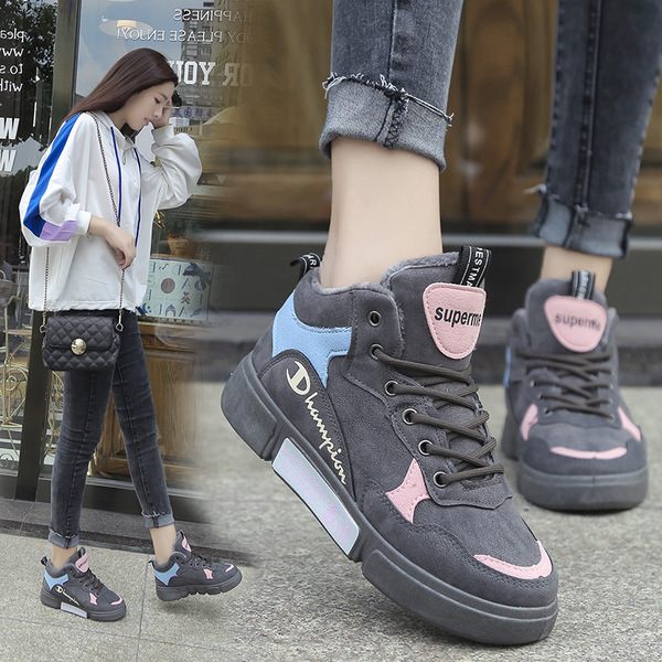 2018 Autumn And Winter New Korean Sports Shoes