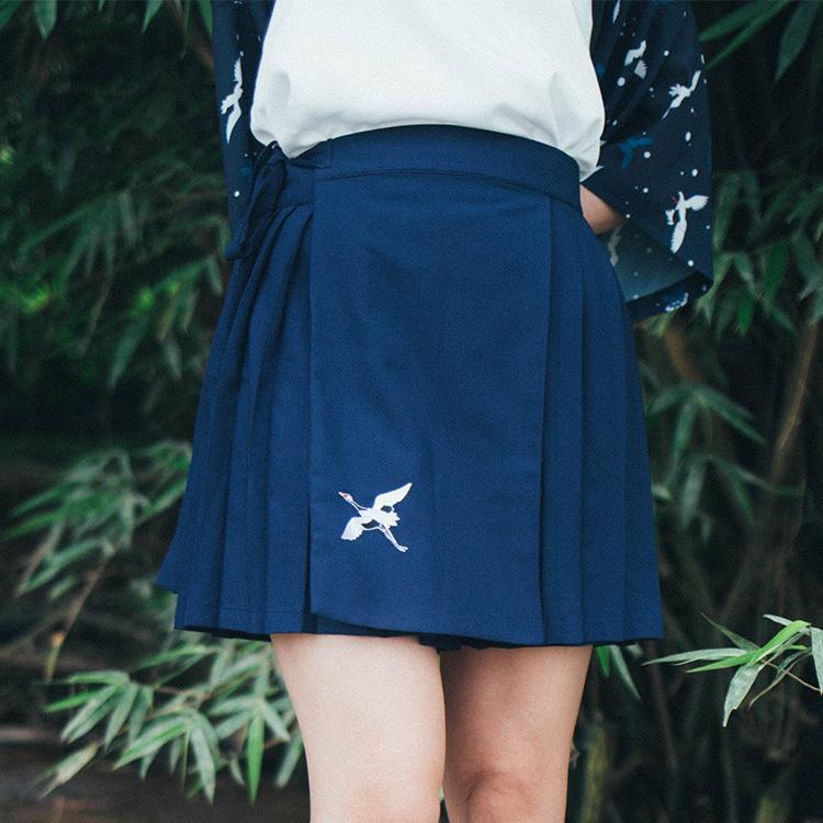 一片式半身裙,体验不一样的穿法