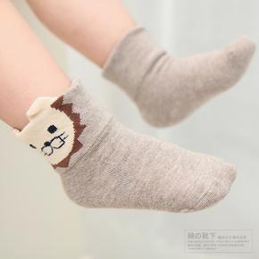 秋冬加厚儿童袜子纯棉宝宝袜子中筒婴儿袜子
