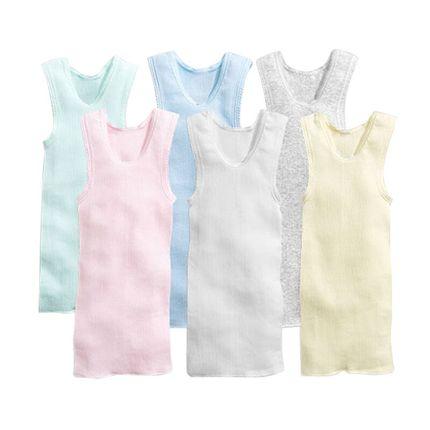 宝宝纯棉护肚小背心薄款夏季男女童新生的婴幼儿童0-1-2-3岁跨栏