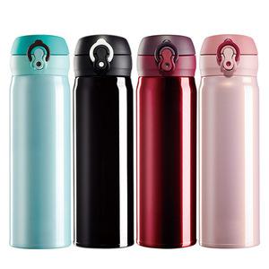 不锈钢真空保温杯男女士学生户外便携水杯大容量商务办公泡茶杯子