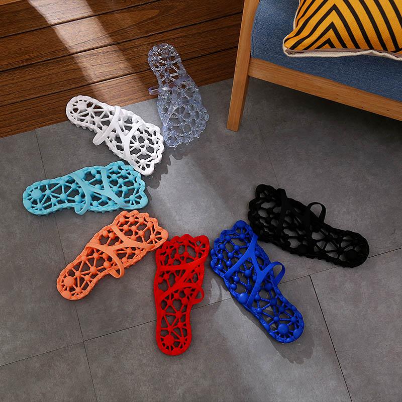 穴位按摩,QYCKABY 室内居家镂空凉拖鞋