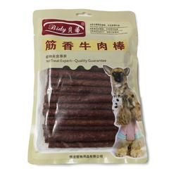 狗零食贝蒂筋香牛肉条宠物训练奖励零食高钙牛肉棒磨牙棒500g*3包