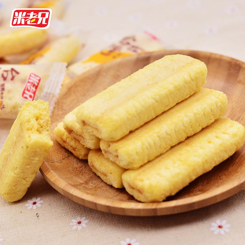 米老兄台湾风味米饼500g 多口味糙米卷