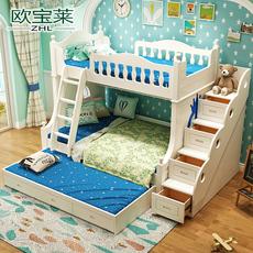 Двухъярусная детская кровать Wash a horse