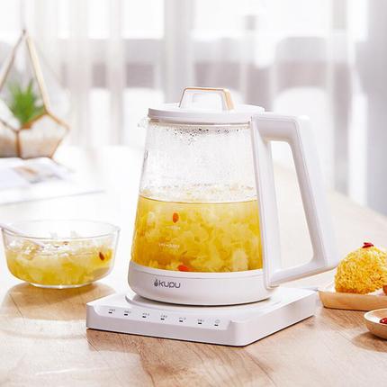 酷璞加厚玻璃全自动养生壶家用多功能烧水壶炖燕窝壶煮茶器花茶壶