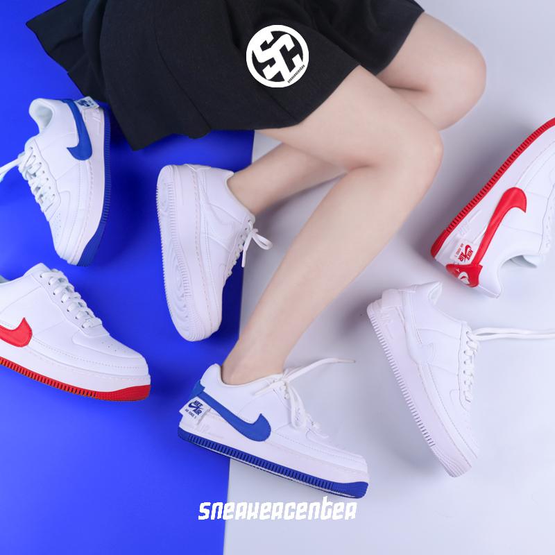 耐克Nike Air Force 1 Jester AF1 变革歪勾运动休闲板鞋 AO1220