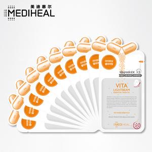 MEDIHEAL/美迪惠尔可莱丝维生素C面膜贴 补水保湿滋润亮肤男女