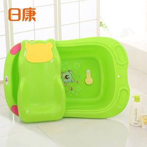 日康婴儿洗澡盆康康浴盆新生儿可坐躺通用宝宝澡盆泡澡盆