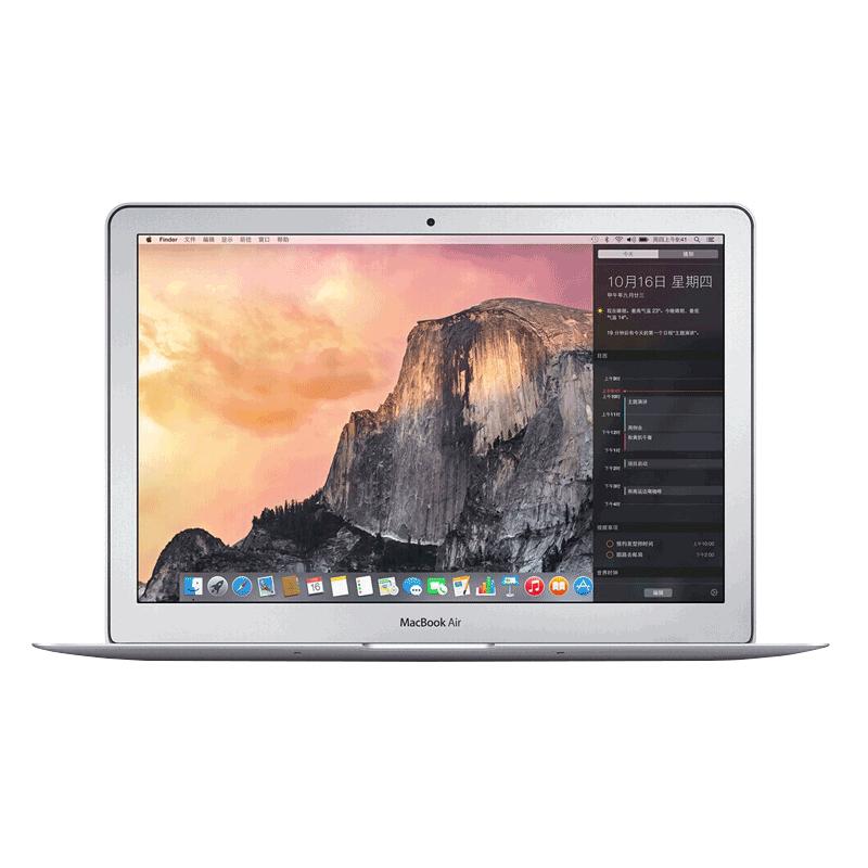正品国行 Apple-苹果 13.3 英寸 1.8GHz 处理器 256GB 存储容量MacBook Air 轻薄商务LED办公笔记本电脑