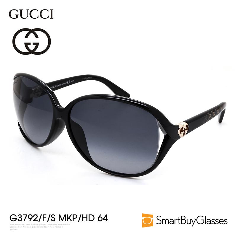 Gucci墨镜Gucci眼镜大框个性街拍圆脸显瘦太阳镜女潮GG3792-F-S