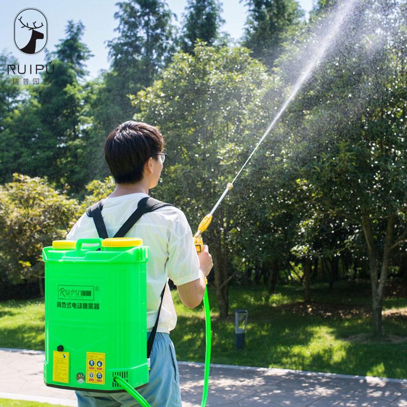 电动喷雾器农用多功能锂电池果树背负式喷雾机充电高压喷雾器