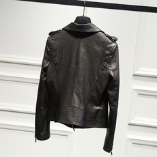 Women's form-fitting leather