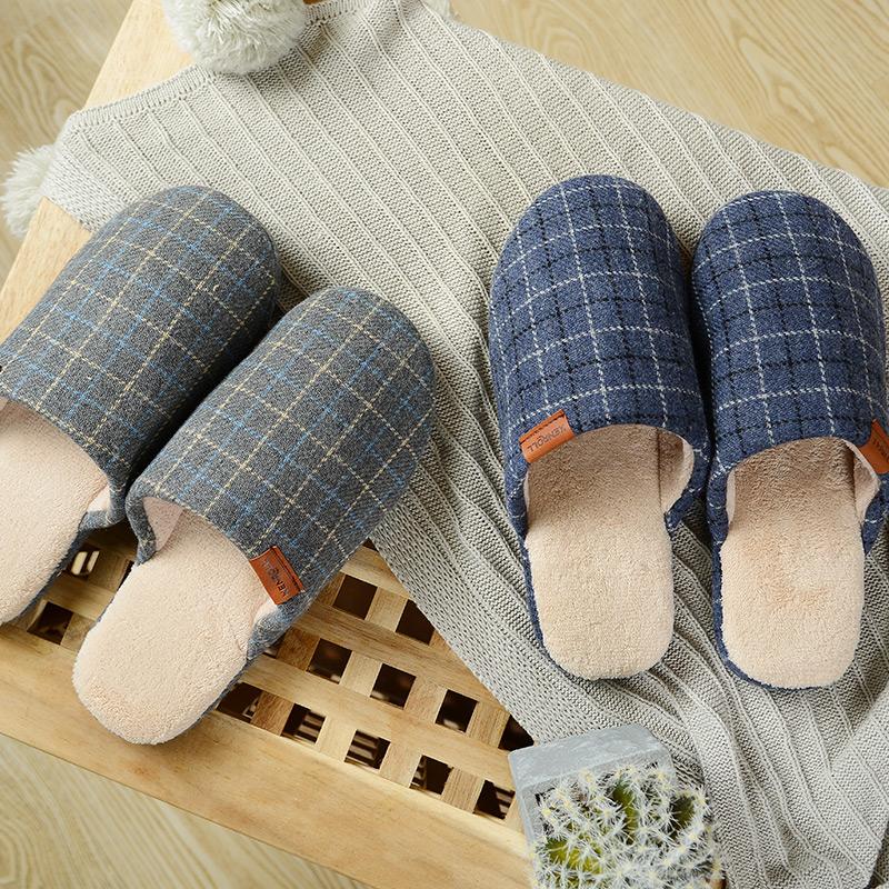 科柔 厚底防滑 男式棉拖鞋 天猫优惠券折后¥49包邮(¥79-30)2色可选