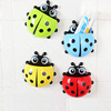 Etravel / Yi Bride Ladybug toothbrush holder creative strong sucker toothpaste suction wall tooth storage box