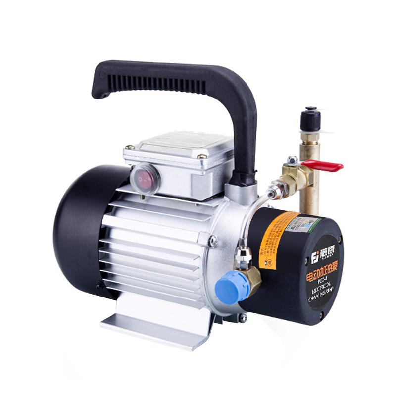 藤原中央空调加油泵电动 制冷机组冷冻机油加油枪大流量空调泵