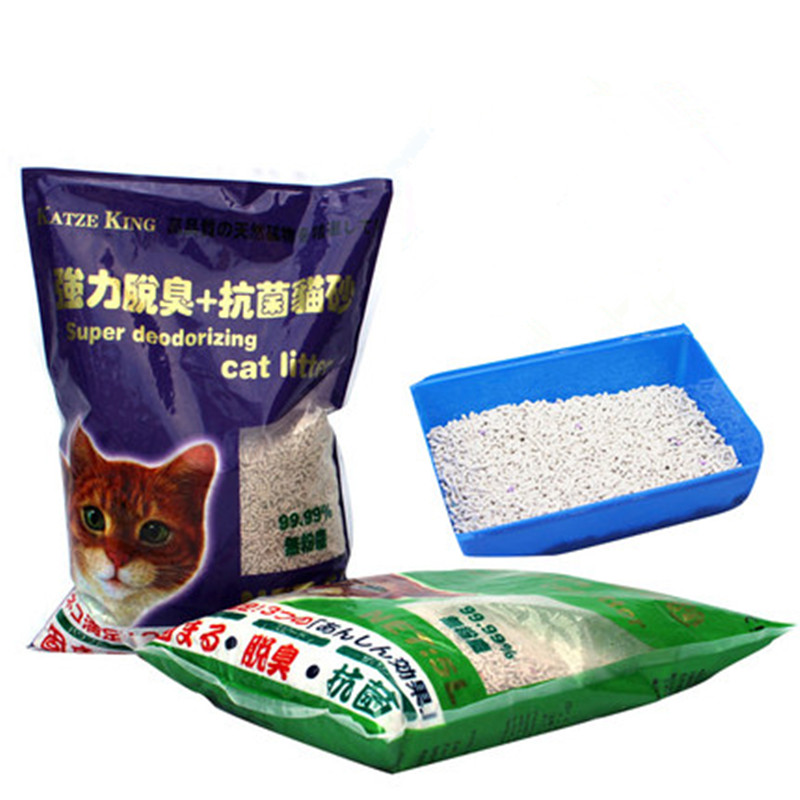 【超级秒杀】家犬精灵猫膨润土猫砂20斤
