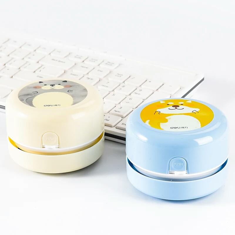 迷你桌面吸尘器得力橡皮屑键盘微型强力清洁器灰尘清理美术生机器