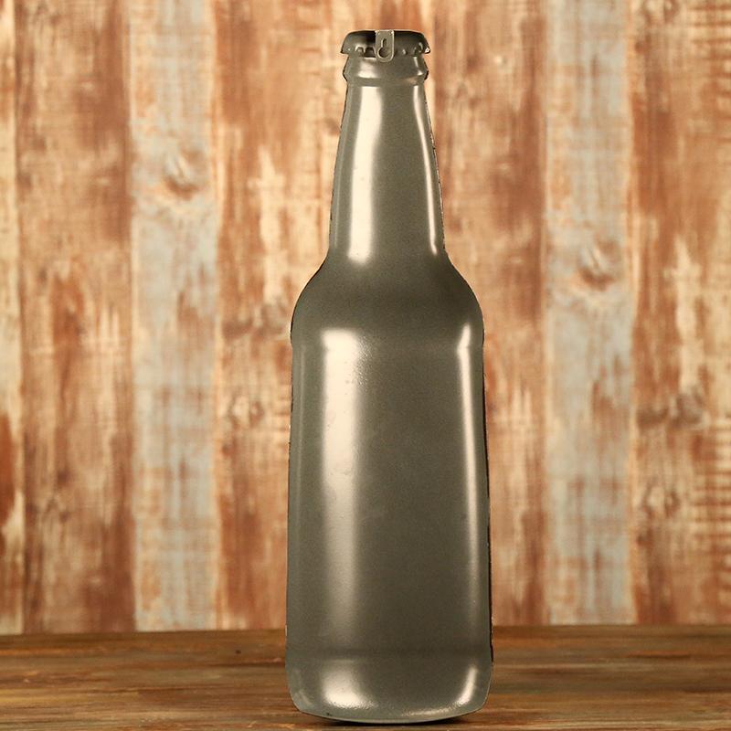 啤酒瓶挂件创意墙饰酒吧墙面上装饰品咖啡厅壁挂壁饰铁皮画图片