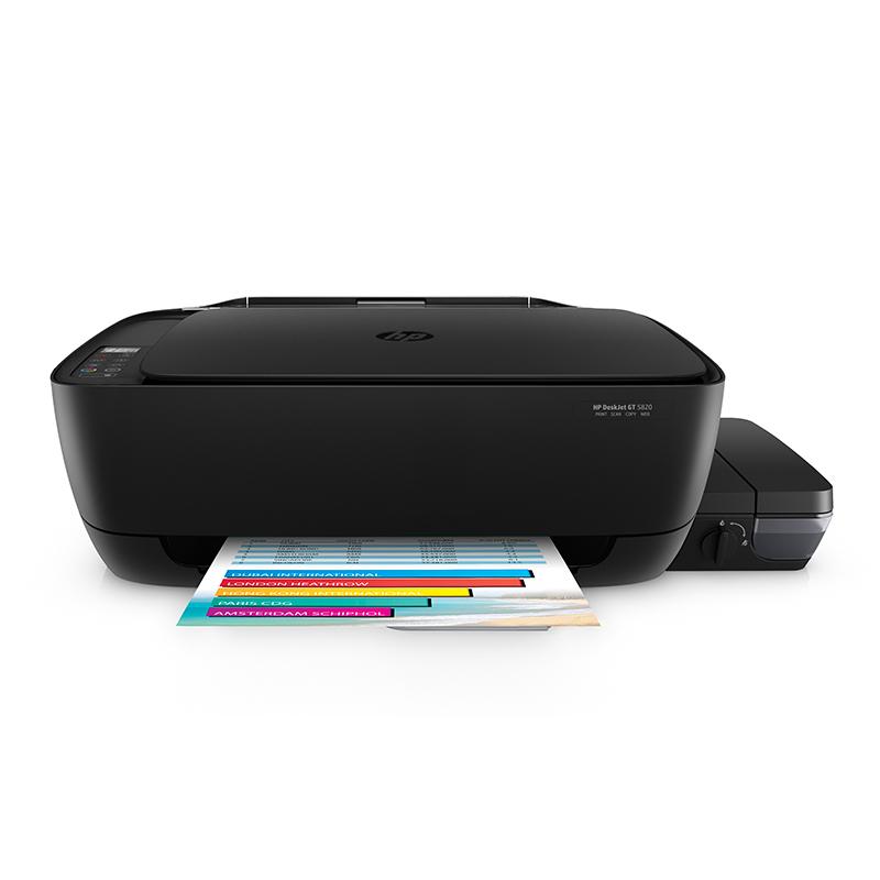 HP惠普GT5820无线彩色照片打印机家用办公复印扫描一体机连供5810