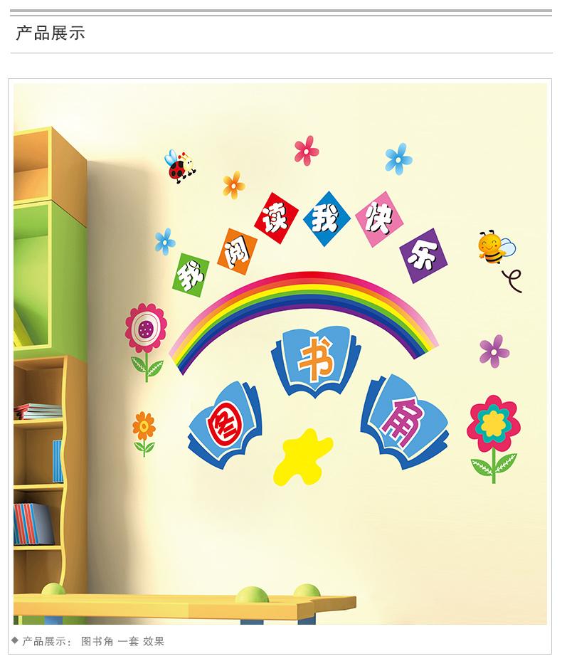 幼儿园图书阅读区布置:阅读区规则图片