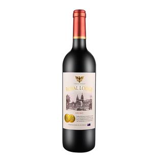澳洲原瓶进口皇家张润金标干红葡萄酒红酒750ml*1 单支装