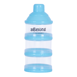 婴儿大容量外出奶粉盒便携奶粉格罐分装奶粉储存盒