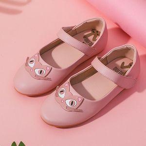 大东童鞋女童公主鞋子儿童单鞋2019新款宝宝豆豆鞋春季演出鞋软底