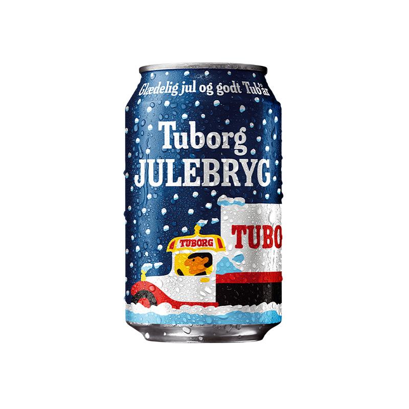 Tuborg乐堡冬日限量罐特酿330ml*6罐丹麦进口 5.6度精选麦芽酒