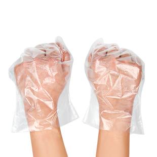 买二送一!一次性透明手套100只