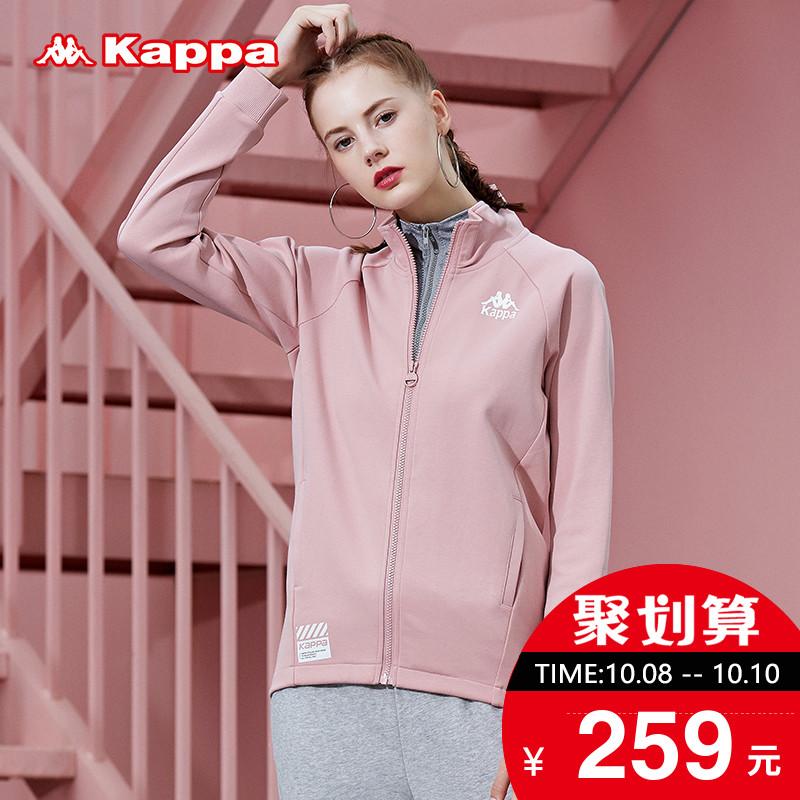 KAPPA卡帕 女款运动卫衣休闲长袖开衫夹克 2018新品|K0862WK18D