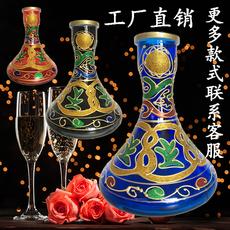 Курительные принадлежности 新款阿拉伯文化水烟装饰壶 shisha花瓶 酒吧ktv大中小号全套包邮