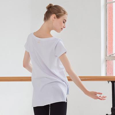 Sansha 法国三沙 2019夏季新款时尚印花舞蹈运动T恤