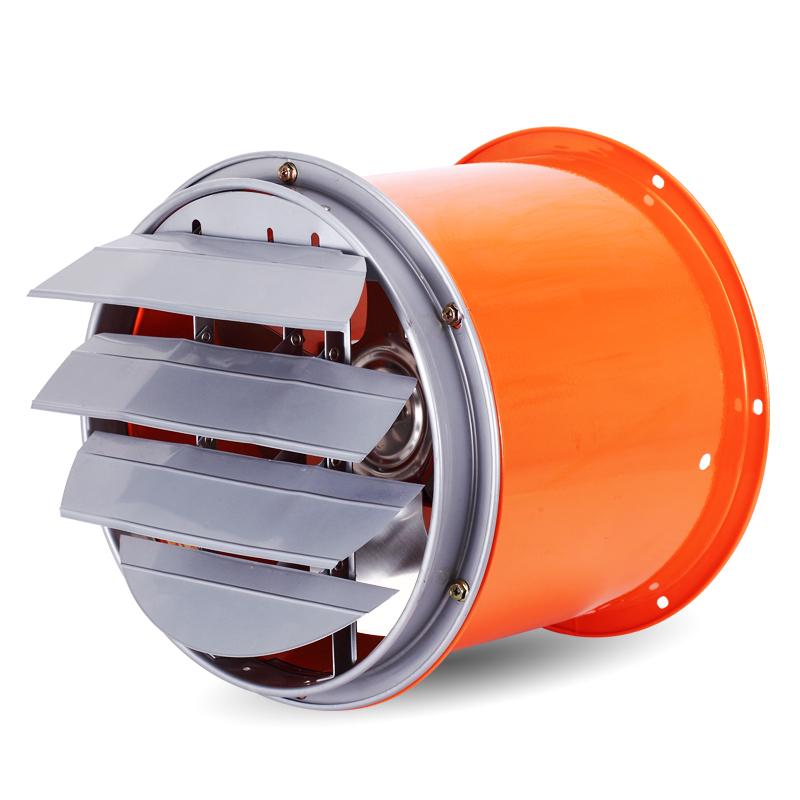 高速10寸排风扇工业圆筒抽风机厨房油烟机管道排烟扇百叶窗换气扇
