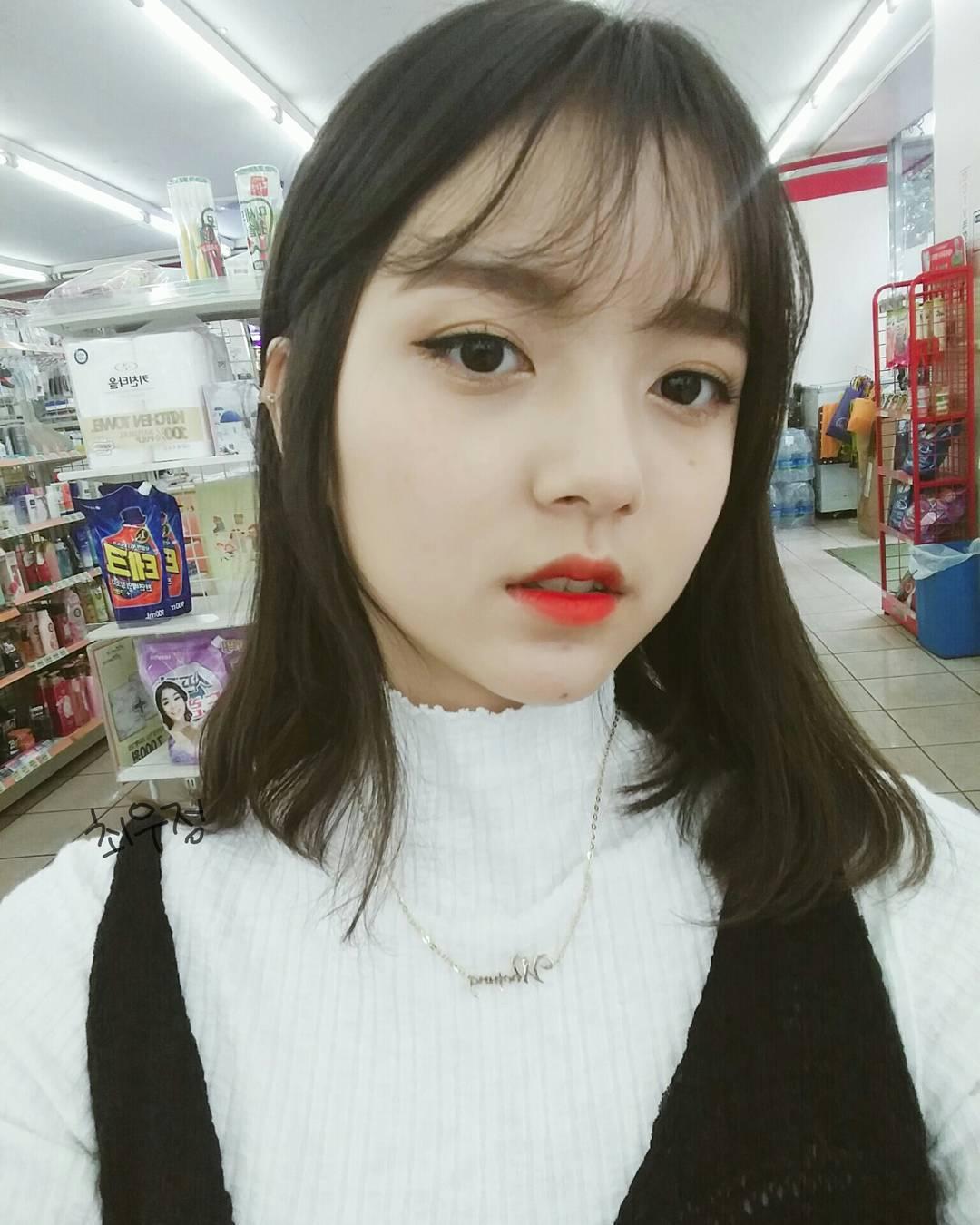 0 去购买 推荐理由: 超自然的韩国空气刘海假发,奶奶灰的颜色款式,很
