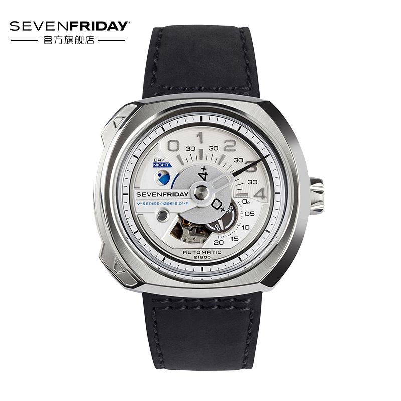SEVENFRIDAY官方正品瑞士7个七个星期五手表机械男表V1-01