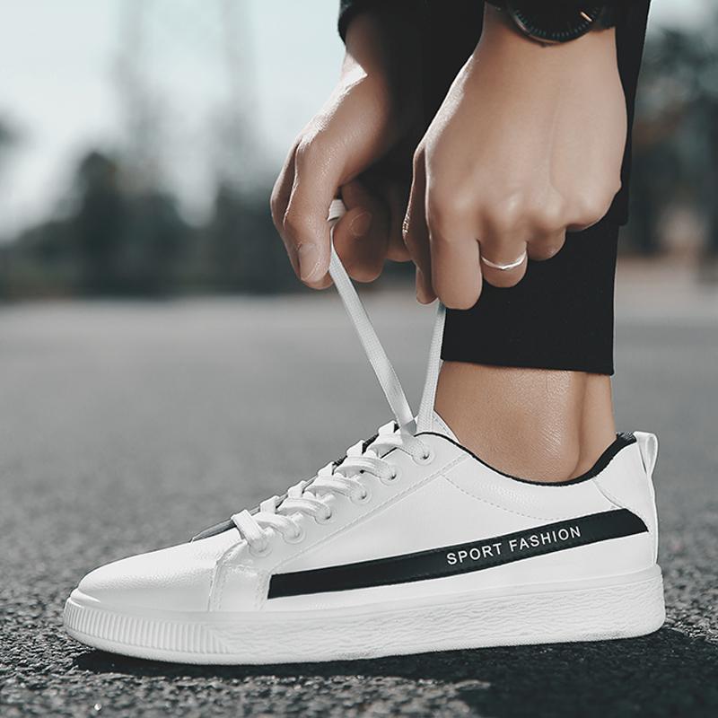 男鞋2018韩版学生小白鞋男士运动休闲鞋百搭青少年板鞋社会潮鞋子