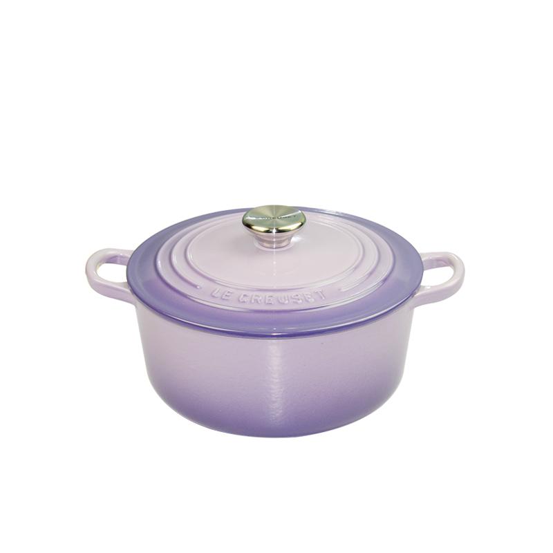 法国进口 LE CREUSET 酷彩 珐琅铸铁 22厘米圆形锅