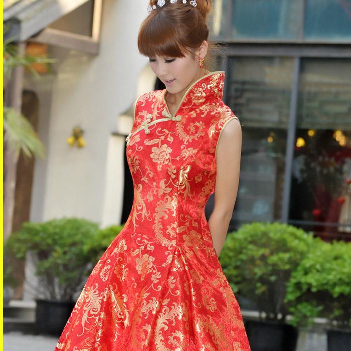 Платье Ципао Popular Bride 593 2013