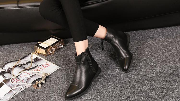 秋冬时节勿忘短靴,百变风格任你挑