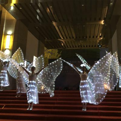Ballet dresses, adult girls, LED, luminous wings, cloaks, luminous skirts, butterfly dance, children's performance costumes.