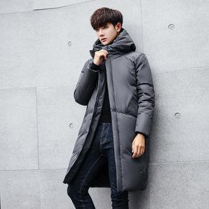 2020新款男女同款羽绒服男士长款加厚韩版修身潮流冬装保暖外套