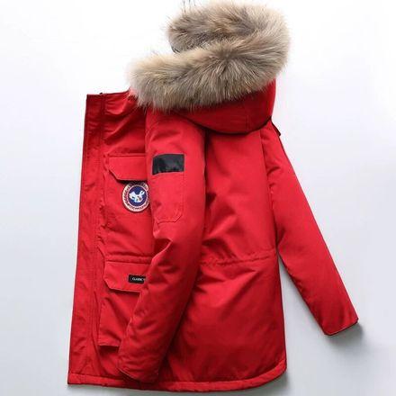 明星同款2020新款冬季男士中长款帅气风户外工装加厚外套