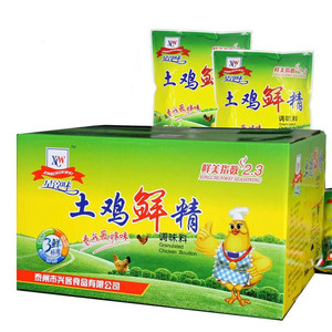 大袋鸡精调味料1000g整箱批发散装味精大袋饭店调料专用商用