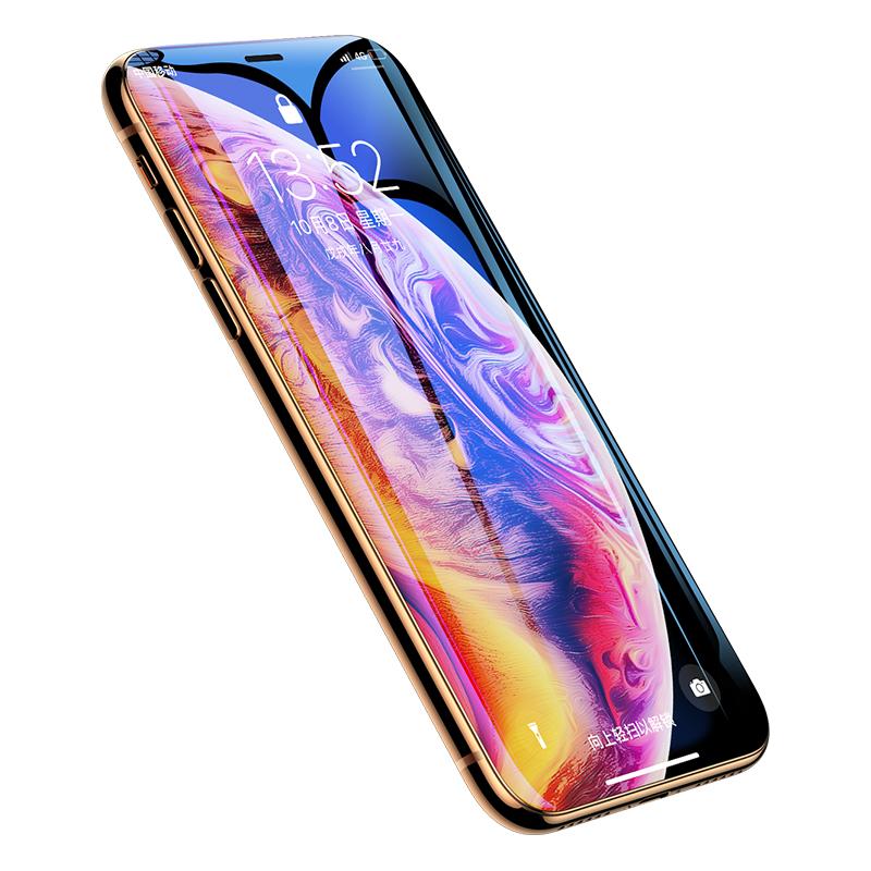 iPhonex钢化膜苹果x手机11promax全屏11pro覆盖iphonexr防窥膜7/8/6/6splus防窥xr防偷窥xsmax蓝光8p偷窃Xs