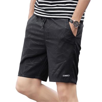 新款夏季男士薄款休闲裤修身夏天五分短裤宽松四分裤韩版沙滩裤潮