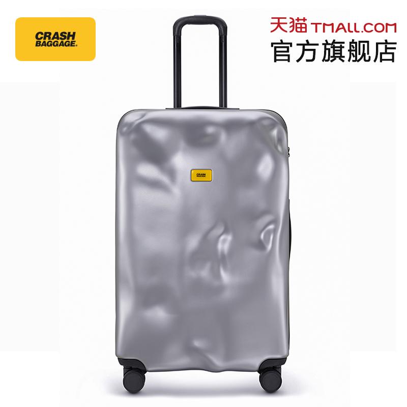 Crash Baggage意大利原创破损旅行万向轮登机留学拉杆行李箱