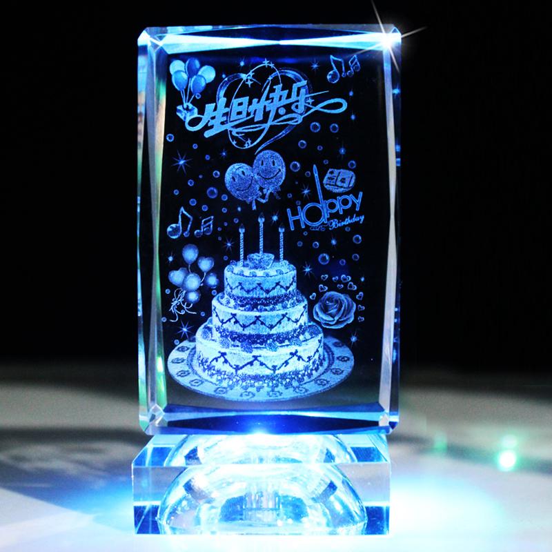 浪漫创意定制新年礼物男送给女朋友闺蜜生日礼物女生同学元旦礼物