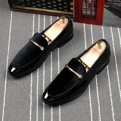 Men Fashion Leather Shoes Man Business Formal Shoes 584812